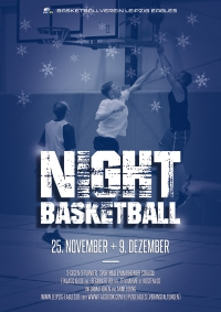 Night Basketball am 25. 11. + 9. 12.